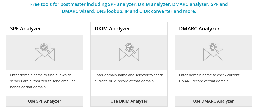 use SFP, DKIM, and DMARC to authenticate your emails